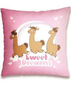 Възглавница с Лама - Сладки сънища