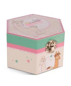 Кутия за бижута с Лама Dalia