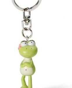 Ключодържател със Жаба Frog girl pvc figure