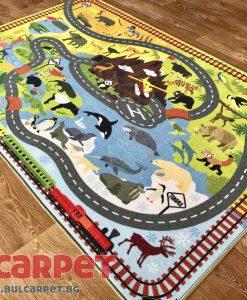 детски килим животни