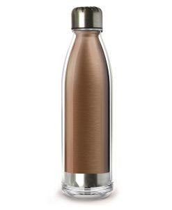 "ASOBU термо бутилка ""VIVA LA VIE"" - 525 мл - цвят мед"