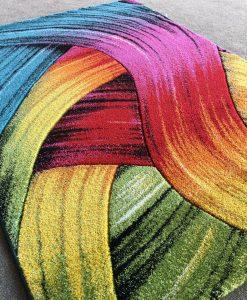 Детски килим кидс мулти 1019 релефен