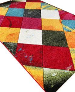 Детски килим кидс мулти релефен