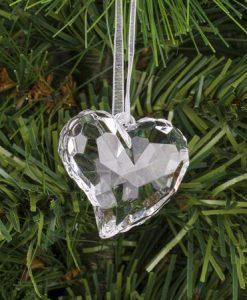 Висулка за елха сърце