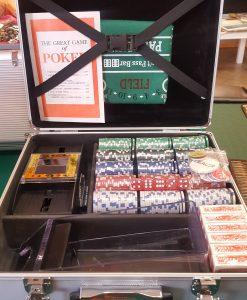 Алуминиево куфарче с 600 чипа