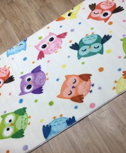 детски килим с бухали