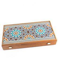 Ръчно изработена дървена табла Manopoulos Anatolia