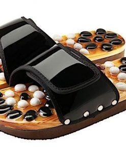 CASADA Масажни чехли за рефлексотерапия с естествени камъни