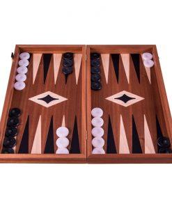 Табла за игра Manopoulos, махагон 30 см
