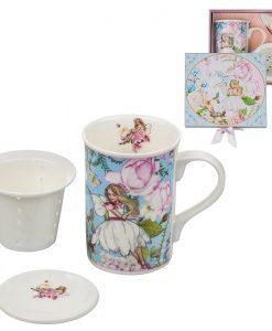 Фея сет чаша+филтър за чай