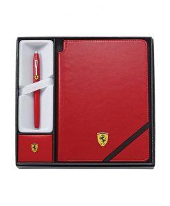 Комплект ролер Cross Ferrari Century II + червен тефтер Cross Ferrari , в подаръчна кутия