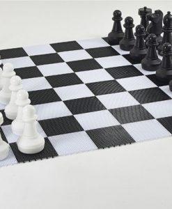 PVC плочки - игрално поле за градински шах