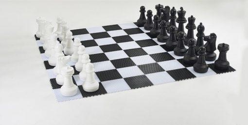 градински шах, Височина на царя - 64 см.