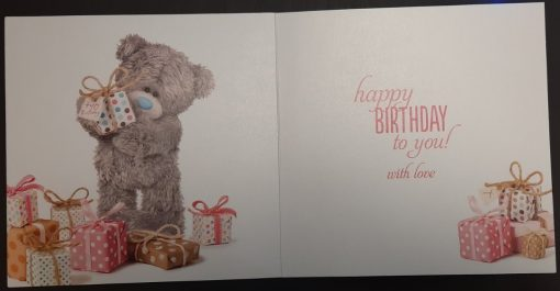 3D Картичка Happy Birthday