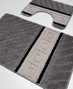 килимче за баня грек сив