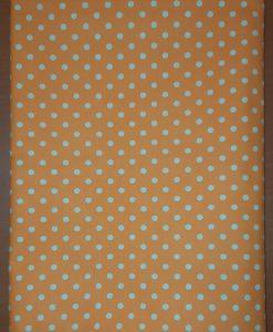 Покривка на точки оранжева