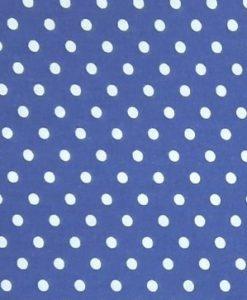 Покривка на точки тъмно синя
