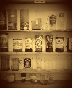 Чаши - Бивши бутилки
