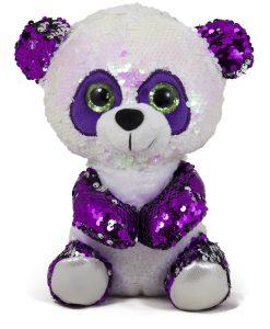 Панда с пайети в лилаво