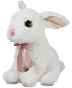 Бяло зайче с апнделка
