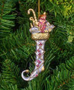 Коледна играчка Ботушче с подаръци