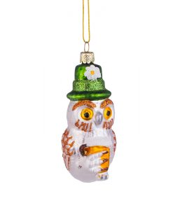 Коледна играчка сова