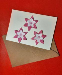 Картичка Цветя
