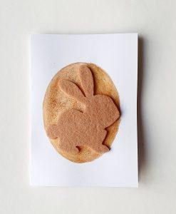 Картичка Великденско зайченце